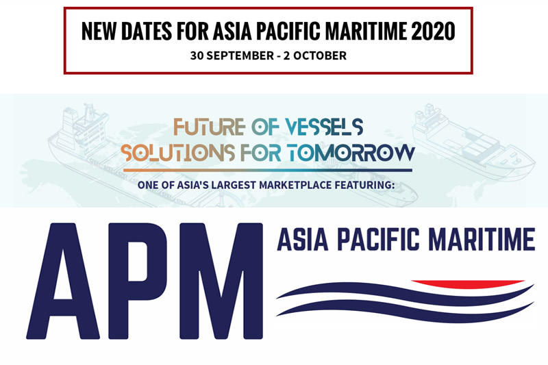 Protea Exhibiting at The Asia Pacific Maritime 30 Sep - 2 Oct 2020