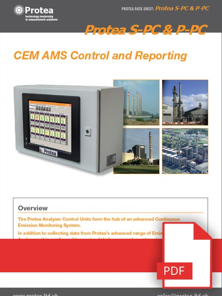 In-Situ CEMs Control Unit